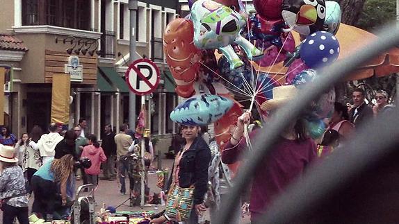 """Vidéo """"Un Hueco en la Ciudad"""" - Extraits"""