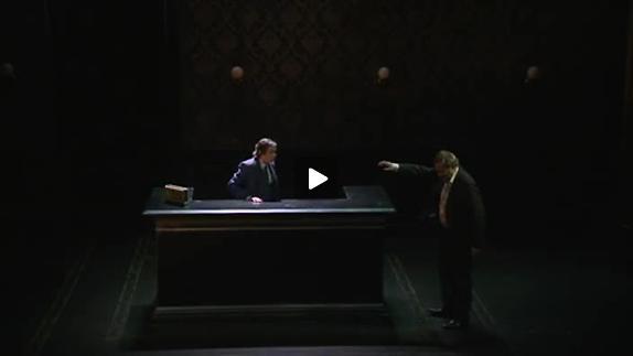 "Vidéo ""Hughie"" de Eugene O'Neill mise en scène Jean-Yves Ruf, extraits"