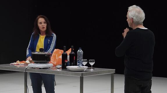 "Vidéo ""Reconstitution"" - Pascal Rambert - Extraits"