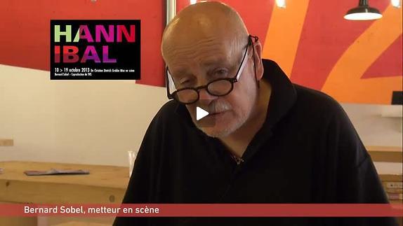 """Vidéo """"Hannibal"""" de Christian Dietrich Grabbe mise en scène Bernard Sobel, présentatio"""