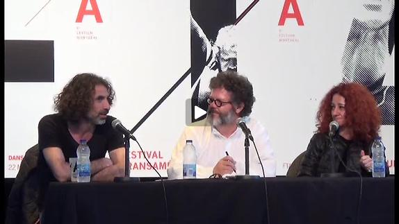 Vidéo Rencontre avec Rabih Mroué et Lina Saneh au 8e FTA