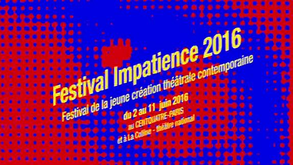 Vidéo Festival Impatience : les 8 spectacles retenus