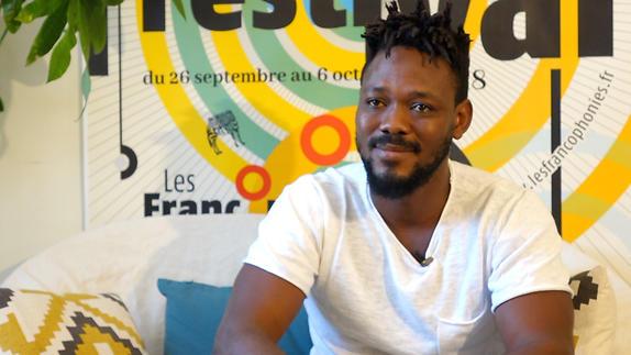 "Image du spectacle Mawusi Agbedjidji pour ""Fissures"" et ""Transe-Maître(s)"""