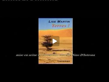Vidéo Nino D'Introna présente Terres !