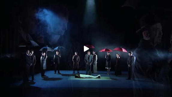 """Image du spectacle """"Lorenzaccio"""", m.e.s. M. Belletante, extraits"""
