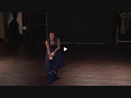 """Vidéo """"La Jeanne de Delteil"""", m.e.s. C. Schiaretti, extraits"""