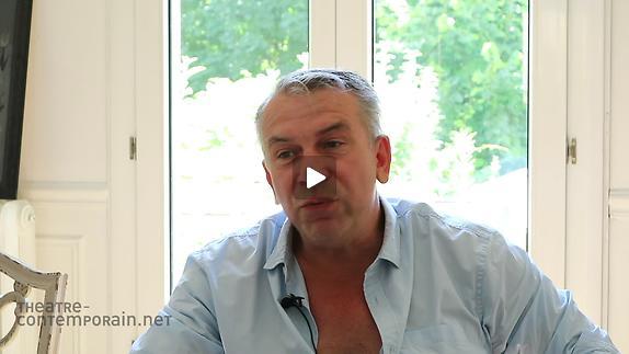 "Vidéo Philippe Torreton, ""Scapin"", la scénographie (5/6)"