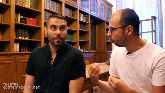 """Vidéo """"Les Chroniques de Peter Sanchidrián"""", J. Padilla, science-fiction et politique"""