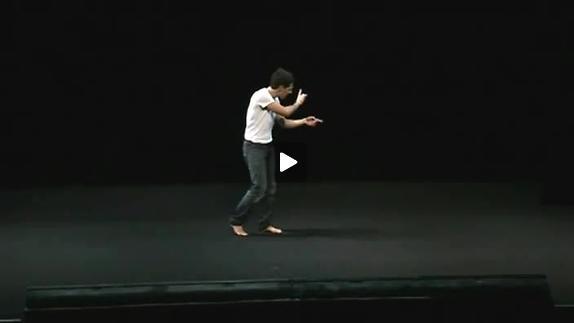 """Vidéo """"A portée de crachat"""" de Taher Najib, m.e.s. Laurent Fréchuret, extraits"""