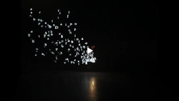"""Vidéo """"Cinematique"""" d'Adrien Mondot - Trailer"""