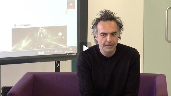 """Vidéo Nicolas Bouchaud, """"Dom Juan"""", le personnage"""