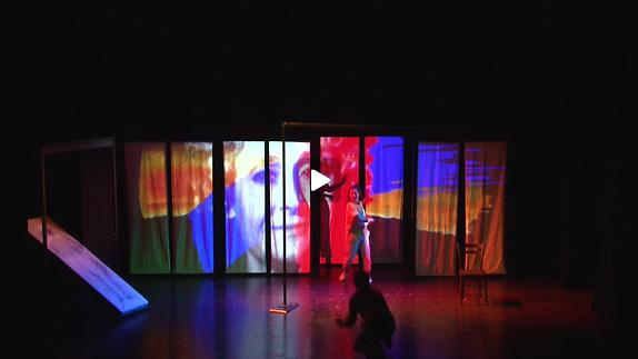 "Vidéo ""Pacamambo"" extrait 14mn mise en scène Y.Chenevoy Cie Chenevoy"