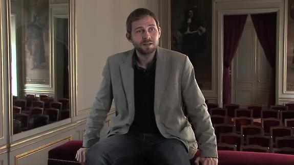 "Vidéo ""Ylajali"" de Jon Fosse, entretien avec Gabriel Dufay"
