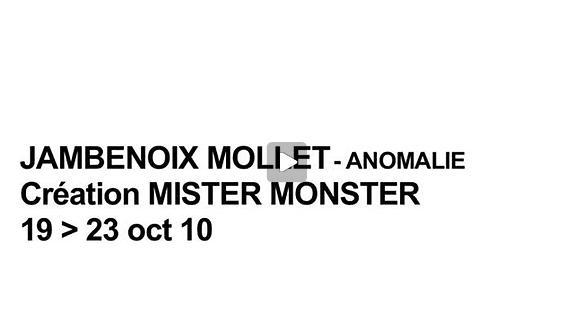 Vidéo Entretien autour de Mister Monster