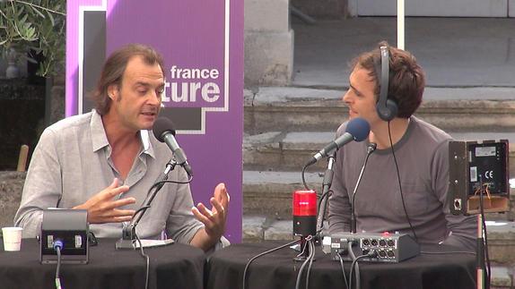"""Vidéo """"Des idées sous les platanes"""" avec Frédéric Boyer"""