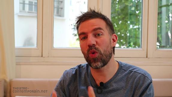 """Vidéo David Paquet, """"Le Brasier"""", présentation"""