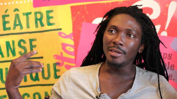 Vidéo Entretien avec Edouard Elvis Bvouma, prix SACD 2016