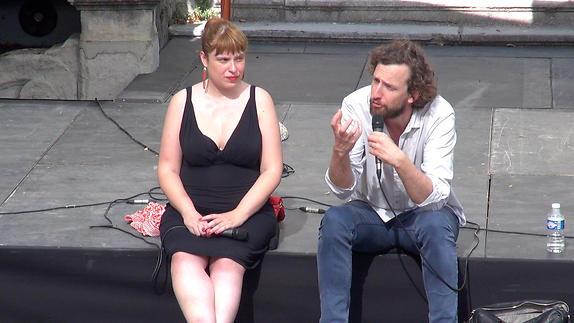"""Vidéo Dialogue artistes-spectateurs autour de """"Andreas"""" de Jonathan Châtel"""