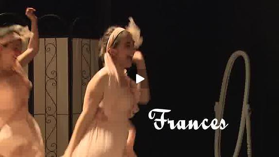 """Vidéo """"Cinq filles couleur pêche"""" - Cie C.T. Créations - Teaser"""