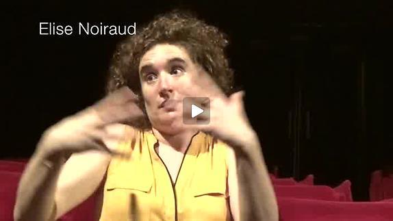 """Vidéo """"Pour que tu m'aimes encore"""" - Interview d'Elise Noiraud"""