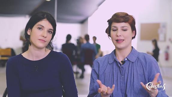 """Vidéo """"Le Monde renversé"""" - Entretien avec Clara Bonnet et Aurélia Lüscher"""