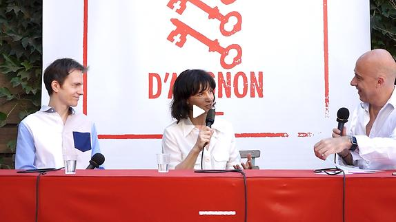 """Vidéo Juliette Binoche et Alexandre Tharaud pour """"Vaille que vivre"""""""