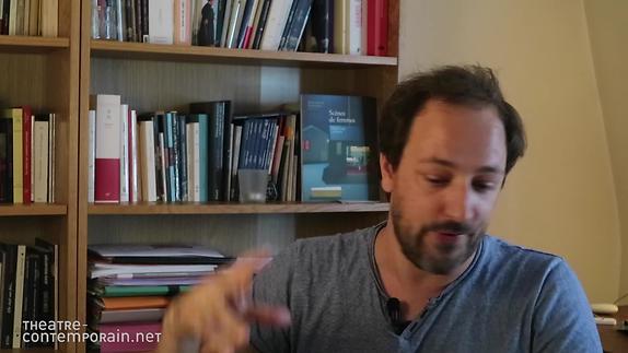 """Vidéo """"Visions d'Eskandar"""", un projet d émise en scène de Samuel Gallet"""
