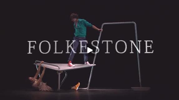 """Vidéo """"Folkestone"""" de Sylvain Levey - Théâtre du Vestiaire - mes Dany Simon - Teaser"""