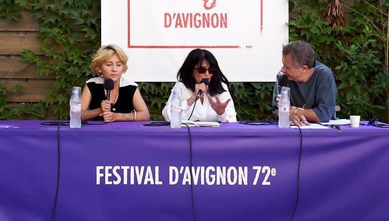 """Image du spectacle Nadjette Boughalem pour """"Paroles de Gonz'"""""""