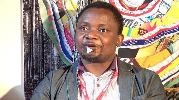 """Vidéo Entretien avec Abdon Fortuné Koumbha Kaf pour """"Au bord du fleuve Congo"""""""