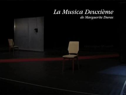 """Vidéo """"La Musica Deuxième"""" m.e.s. Véronique Mounib, présentation"""