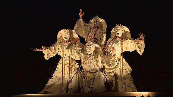 "Image du spectacle ""Mahabharâta-Nalacharitam"", extraits"