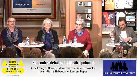 Vidéo Rencontre-débat sur le théâtre polonais