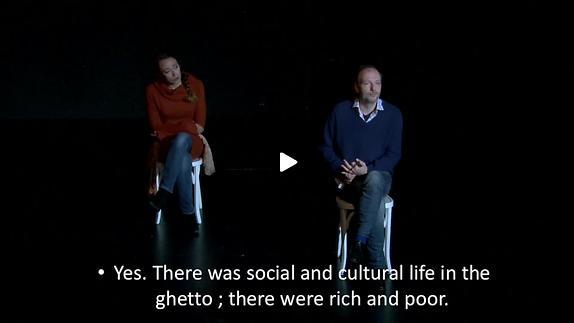 """Vidéo """"Ceux qui restent"""" de David Lescot"""
