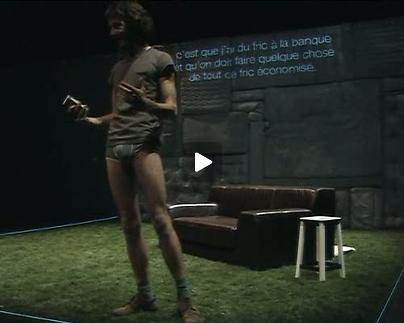 """Vidéo """"Borges vs Goya"""", extraits vidéo"""
