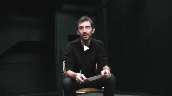 """Vidéo """"Neiges"""", présentation par Yan Allegret"""