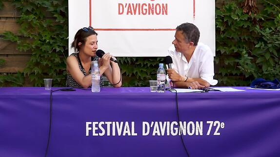 """Vidéo Chloé Dabert pour """"Iphigénie"""""""