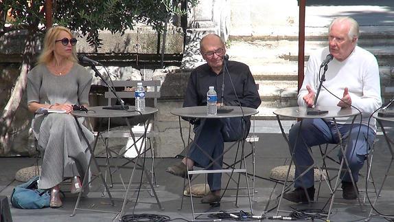"""Image du spectacle """"L'amour pour faire mentir l'individualisme"""" avec Alain Badiou, philosophe"""