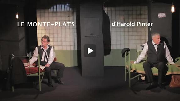 """Image du spectacle """"Le Monte-plats"""", m.e.s. Christophe Gand - Bande-annonce"""