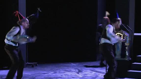 """Vidéo """"La Maison d'os"""" de Roland Dubillard, m.e.s. Anne-Laure Liégeois, teaser"""