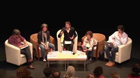 """Vidéo Table ronde 1 : """"Écrire (pour) le théâtre aujourd'hui"""""""
