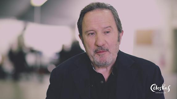 """Vidéo """"Le Faiseur de théâtre"""", m.e.s. C. Perton - Entretien avec André Marcon"""