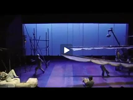 """Vidéo """"Les Aventures de Sindbad le marin"""" de A. Mélinand, m.e.s. L. Pelly, bande-annon"""
