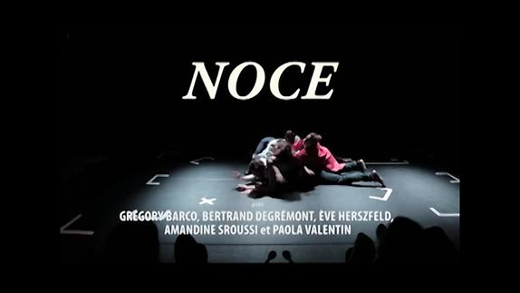 """Vidéo """"Noce"""" de Jean-Luc Lagarce, m.e.s. Pierre Notte - Démo"""
