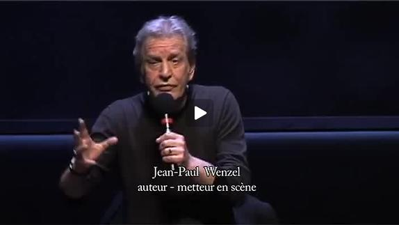 """Image du spectacle """"Tout un homme"""", présentation par Jean-Paul Wenzel"""