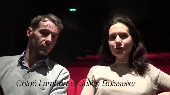 """Image du spectacle """"La Médiation"""" - Interview de Chloé Lambert et Julien Boisselier"""