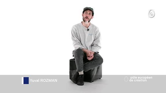 Vidéo Yuval Rozman, artiste du campus