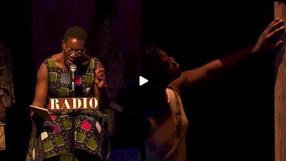 """Vidéo """"Une Saison au Congo"""", m.e.s. C. Schiaretti, extraits"""