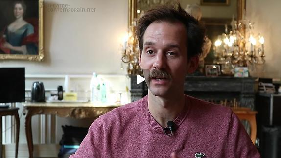 "Vidéo Benjamin Lavernhe, ""Scapin"", l'interprétation"