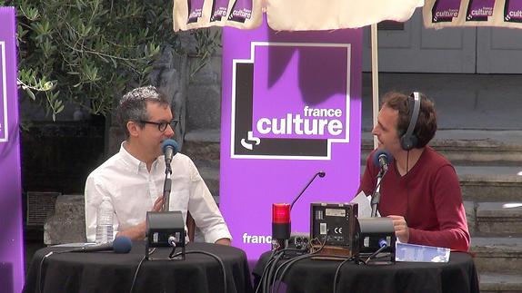 """Vidéo """"Des idées sous les platanes"""" avec Bernardo Carvalho pour """"Dire ce qu'on..."""""""